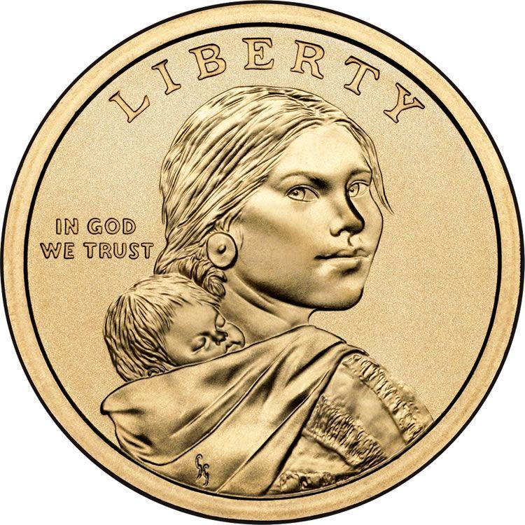 2010 Native American 1 Coin Us Coins Sacagawea Dollar Dollar Coin Value Coin Collecting
