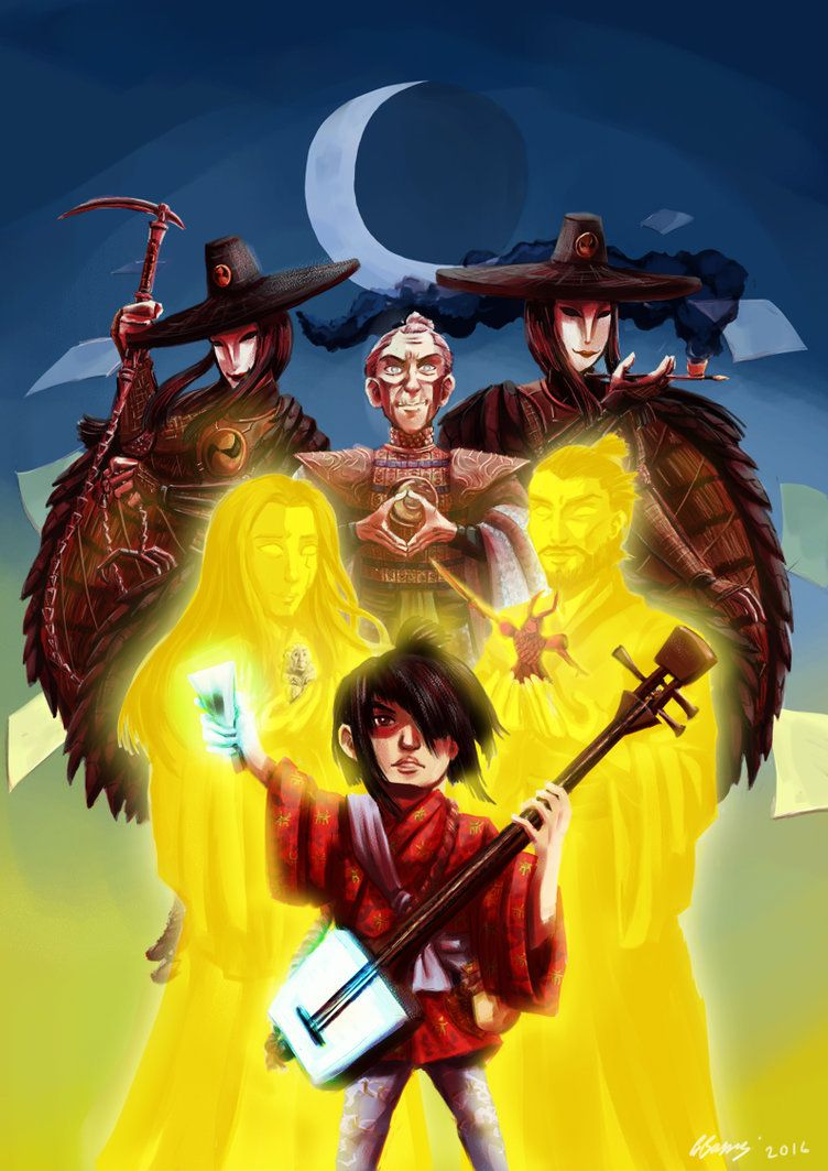 Kubo and the Two Strings by ryuuza-art on DeviantArt