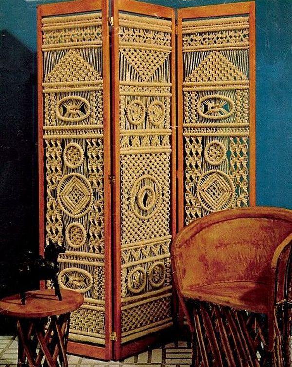 Необычная коллекция предметов интерьера в технике макраме - Ярмарка Мастеров - ручная работа, handmade