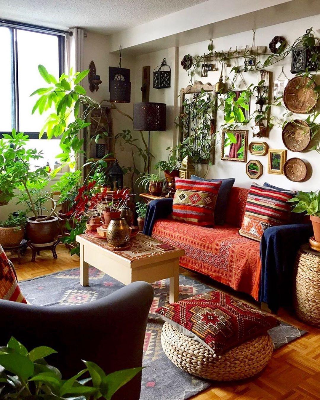 Bohemian Home decor Design And Ideas  Hippie living room