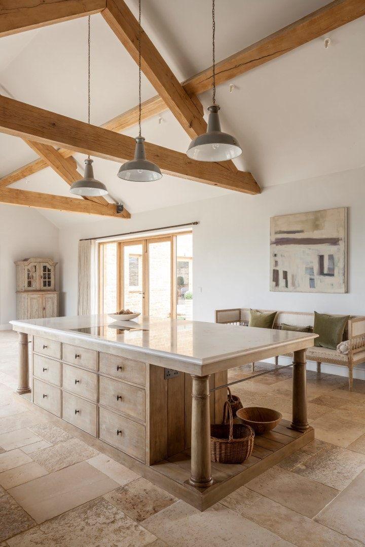 Best Modern Rustic Kitchen Island Designed By Artichoke For An 640 x 480