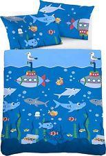 Biberna Bettwäsche Babybettwäsche Unterwasser Biber Flanell 100135