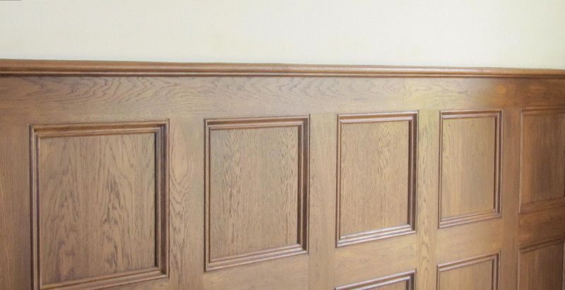 classic oak panels decorative wooden interior wall panels (800