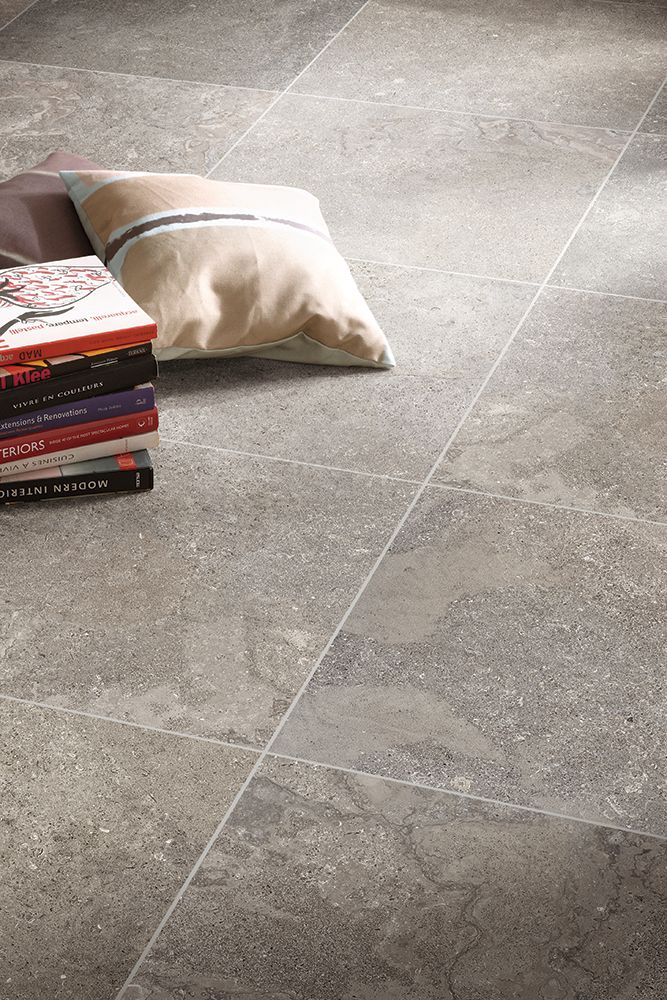 We Love The Texture On This Warm Gray Floor Tile Rite Rug Flooring