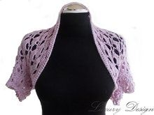 Photo of Crochet bolero – crochet short jacket – all sizes