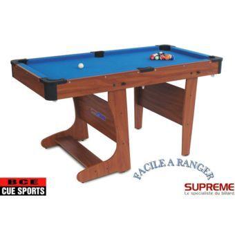 Supreme Billard Clifton Pliable 4ft 1 2 Pool Table Billiards Table