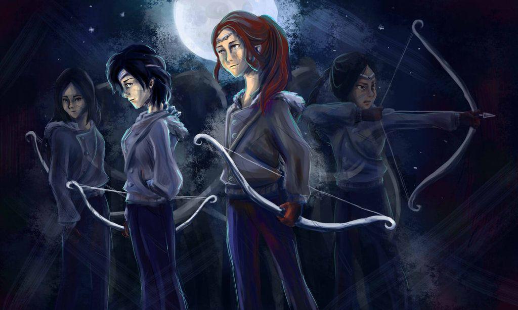 Las Cazadoras de Artemisa | Percy jackson, Heróis do olimpo ...