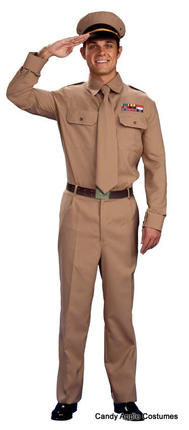 66dba35174f There's nothing like a man in uniform! Dress up like a 1940s general ...