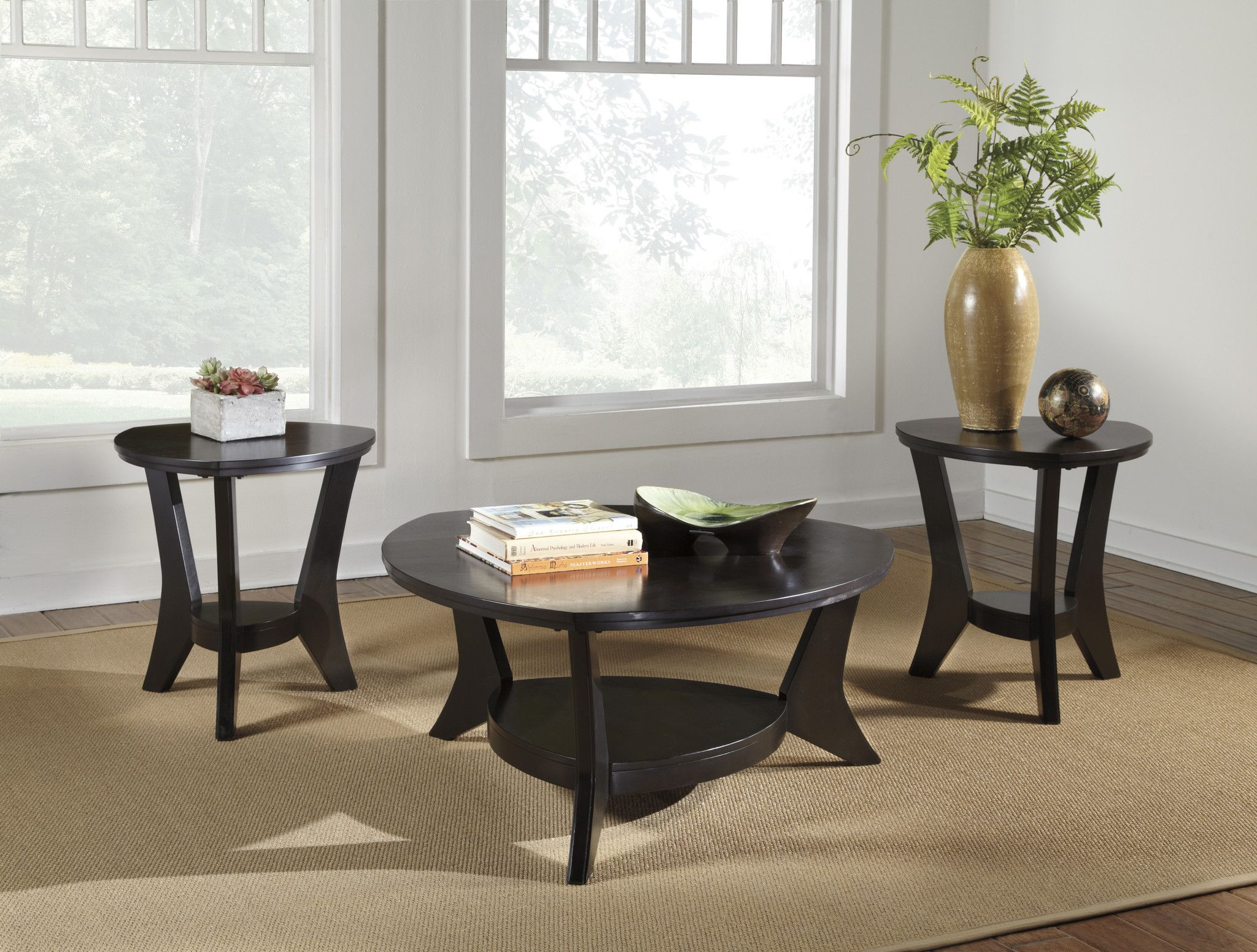 Best Marinday Occasional Table Set 3 Piece Coffee Table Set 400 x 300