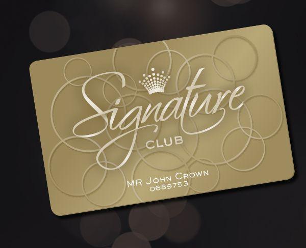 Crown Signature Club By Josip Kelava, Via Behance | Logo Design