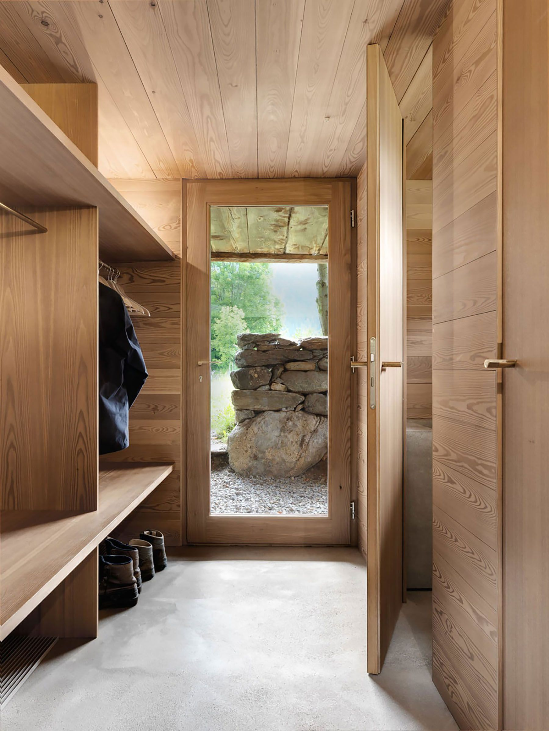 Architecture D'intérieur Vevey A Tiny Cabin In The Swiss Alps Mudroom Chalet Interior House