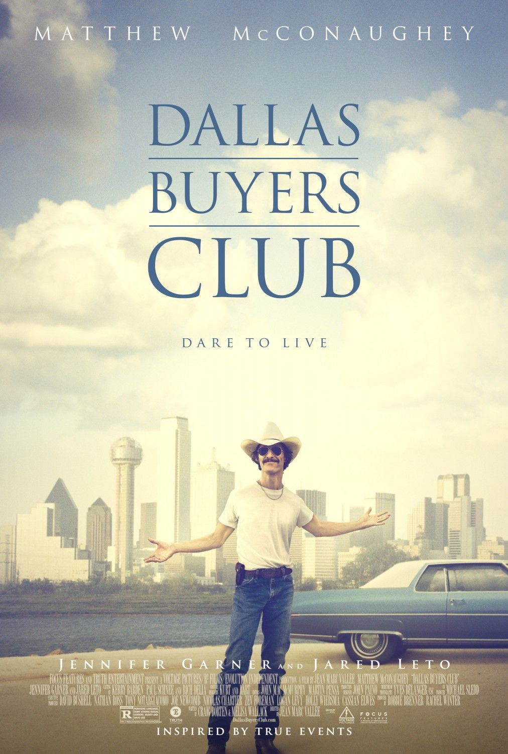 Dallas Buyers Club Poster Dallas Buyers Club Good Movies Oscar Nominated Movies