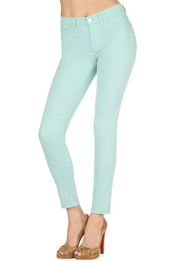 14bc21c065c7 811 Mid-Rise Skinny Leg in Oblivion   covetable closet   Mint skinny ...