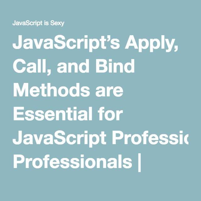 Javascript is sexy callbacks