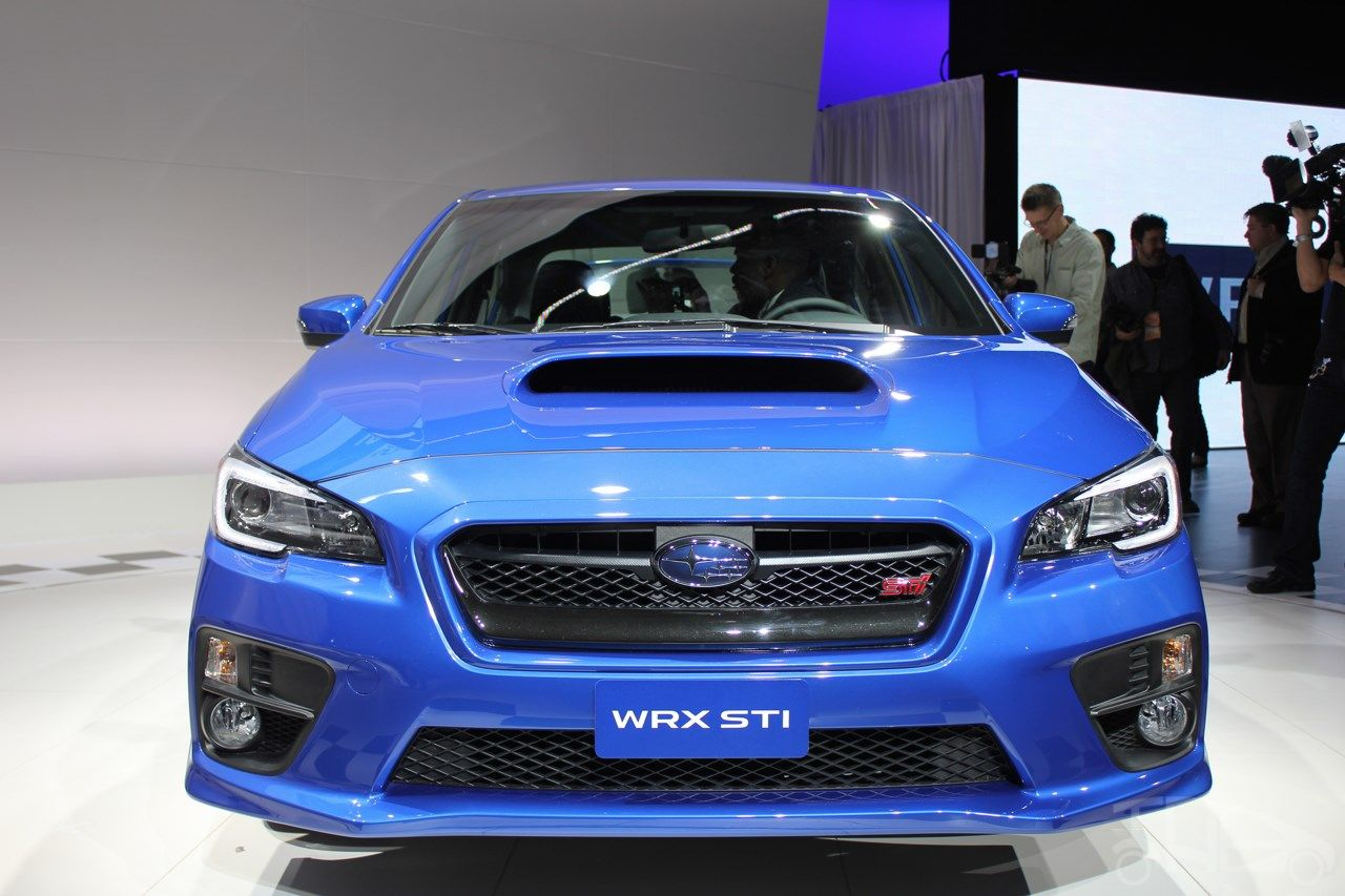 2015 Subaru WRX STI Front View Wallpaper (With images