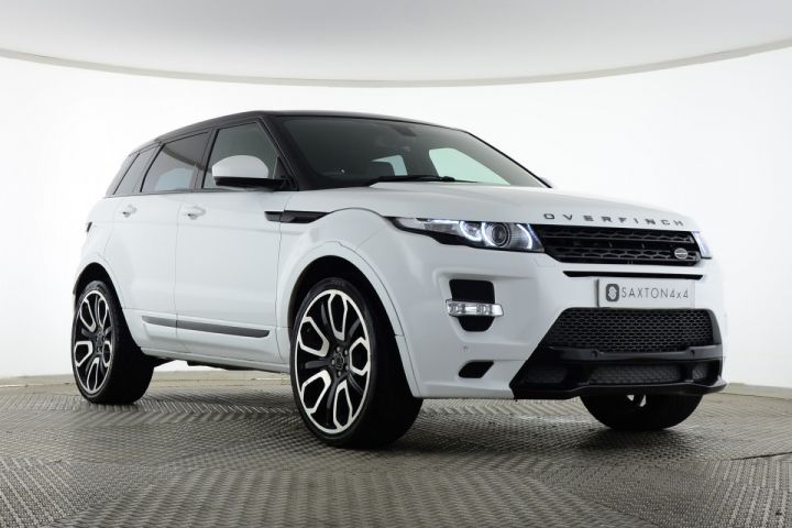 Used Land Rover Range Rover Evoque Sd4 Pure Tech 5 Door Overfinch Gts White For Sale Essex Ys14ujl Saxton 4x4 Range Rover Evoque Used Range Rover Range Rover