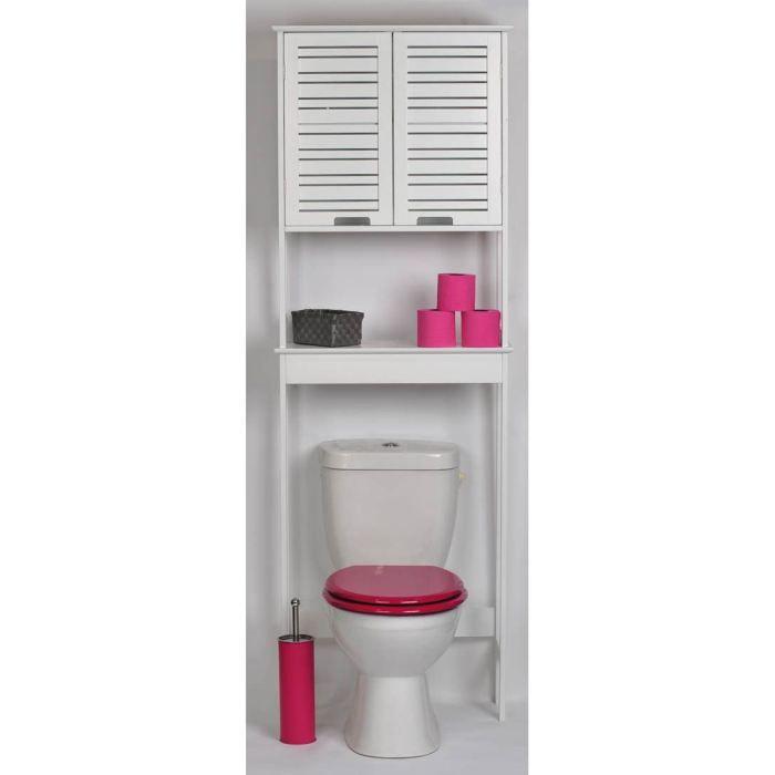 Cdiscount Com Meuble Haut Salle De Bain Meuble Toilette Meuble Wc