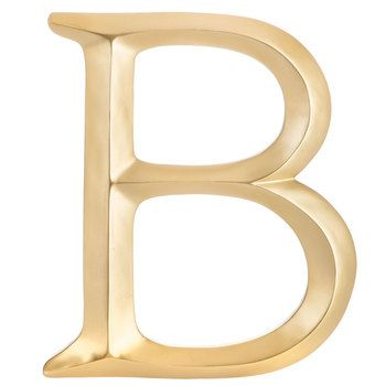 Gold Letter Wall Decor - B images