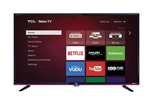 TCL 32S3850P 32Inch 720p 60Hz Roku Smart LED TV (2015