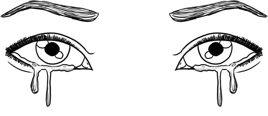 How to draw anime eyes crying step by step image gallery photonesta