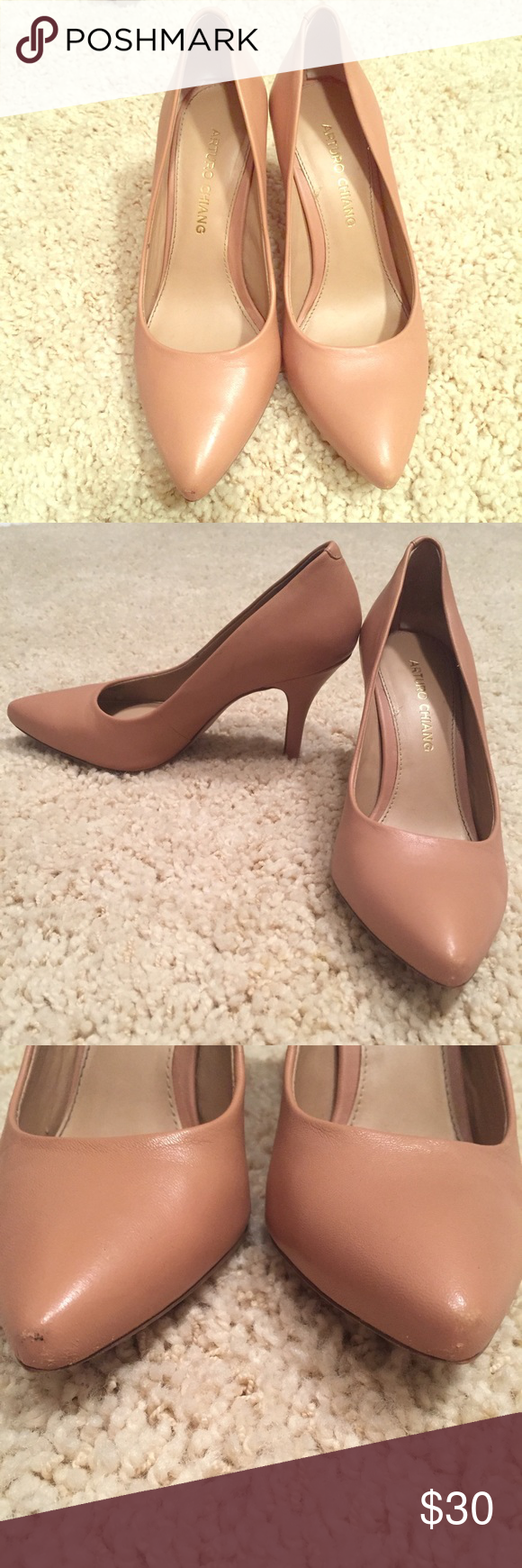 Arturo Chiang sz 6 EUC pointy toe heels Arturo Chiang sz 6 EUC pointy toe heels helloooooo who doesn't need this wardrobe staple?! These are still sold in store for way more 💰💰💰 Arturo Chiang Shoes Heels