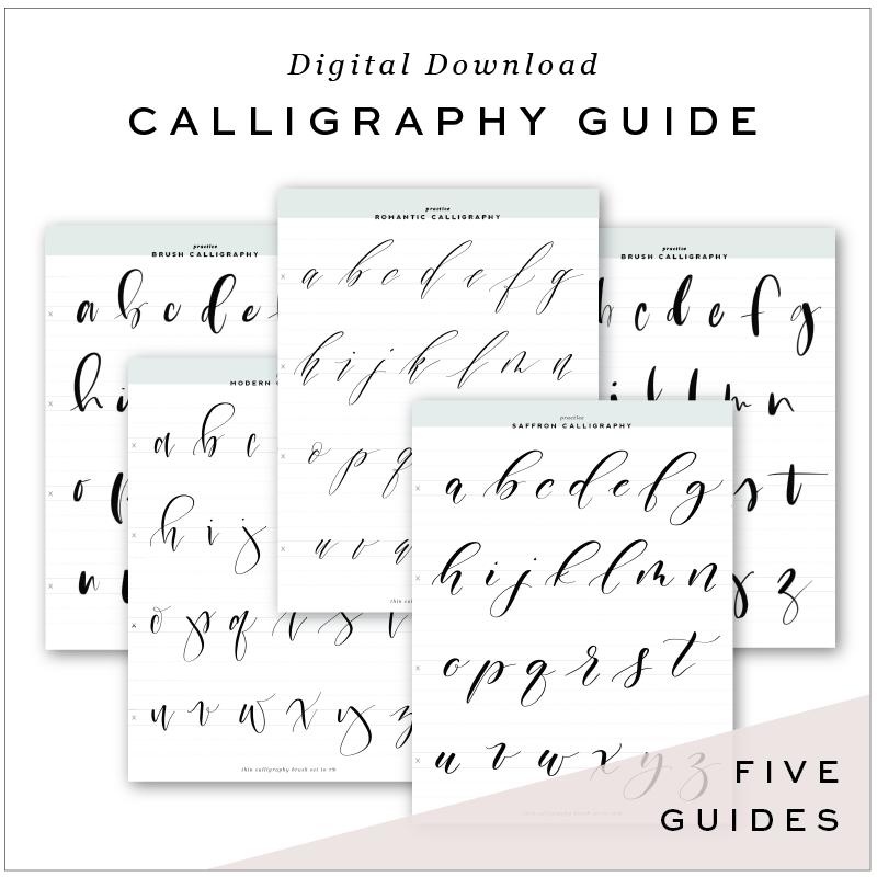 Calligraphy Brushes For Procreate App Artsy Pinterest