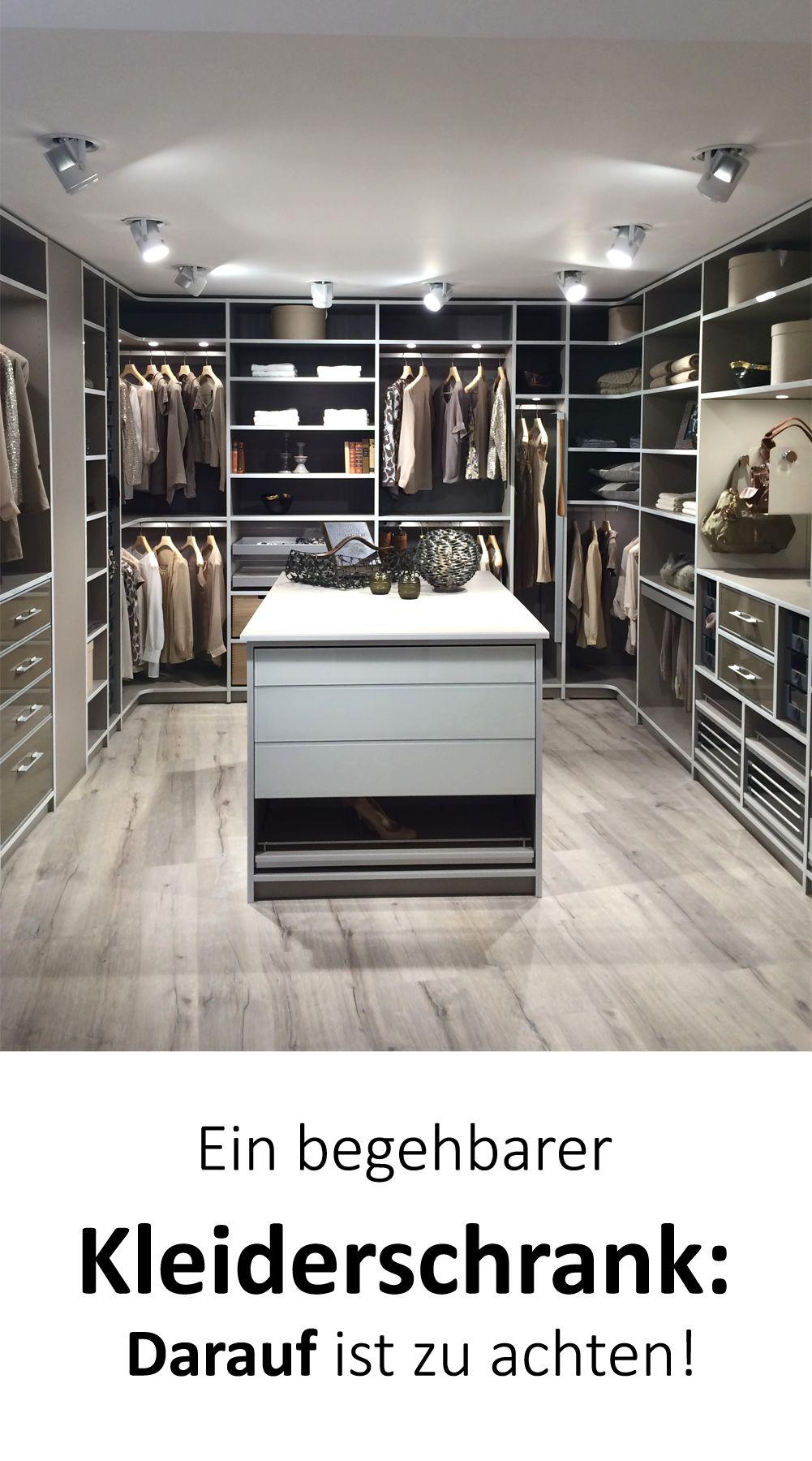 begehbarer kleiderschrank planung tipps darauf ist zu achten in 2018 kleiderschrank. Black Bedroom Furniture Sets. Home Design Ideas