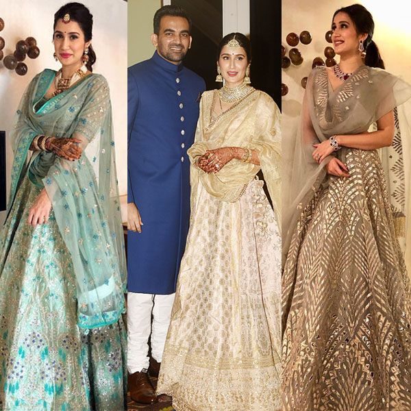 From Court Marriage To Her Wedding Reception Here S How Sagarika Ghatge Made The Perfect Bride