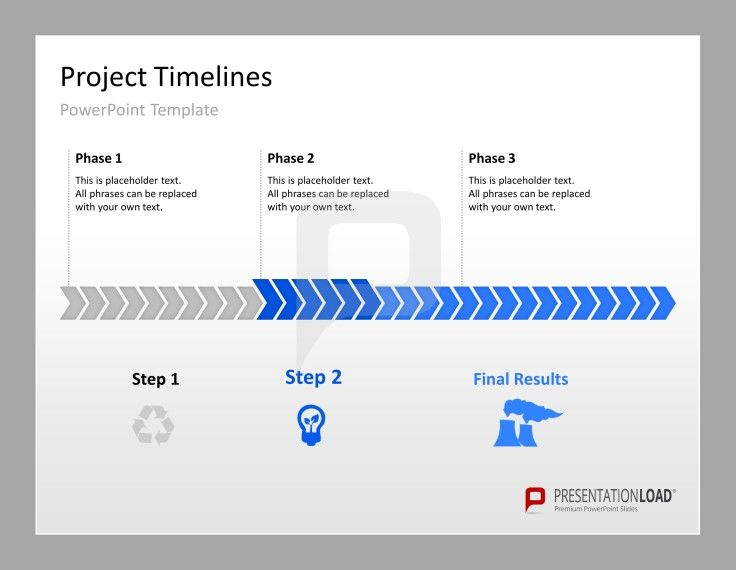 Timeline PowerPoint Template #presentationload    www - project timeline template