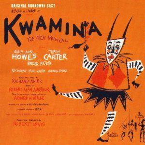 Kwamina 1961 Richard Adler Musical Musicals It Cast