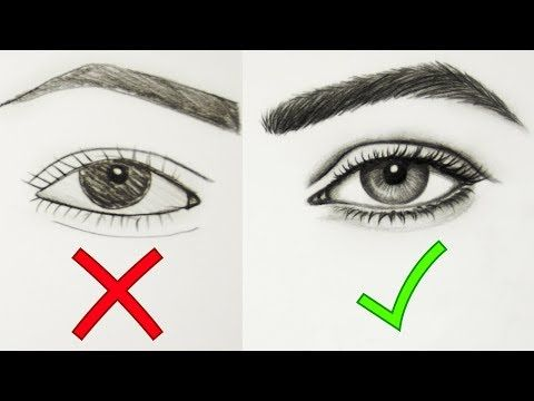 Tips Dos Don Ts How To Draw Realistic Eyes Easy Step By Step Art Drawing Tutorial Youtube Realistic Drawings Art Studio Space Art