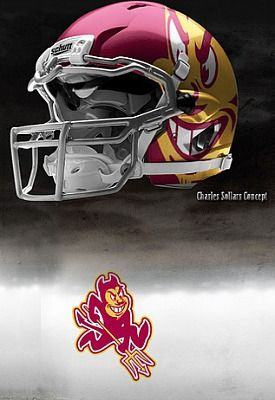 Arizona State Love My Devils Got Helmets College Football