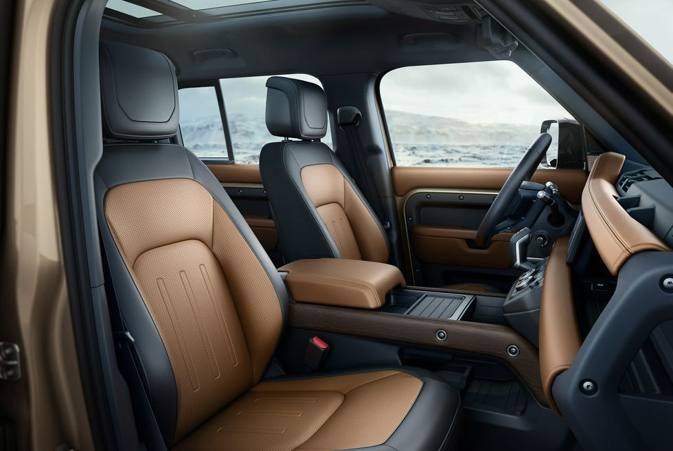 The All New Land Rover Defender Revealed At Last In 2021 New Land Rover Defender Land Rover Defender Land Rover Defender Interior