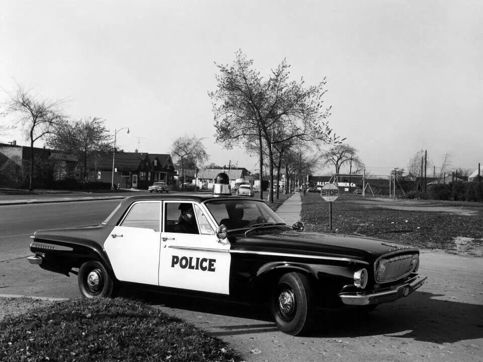 1962 Dodge Dart Police Cars Old Police Cars Us Police Car