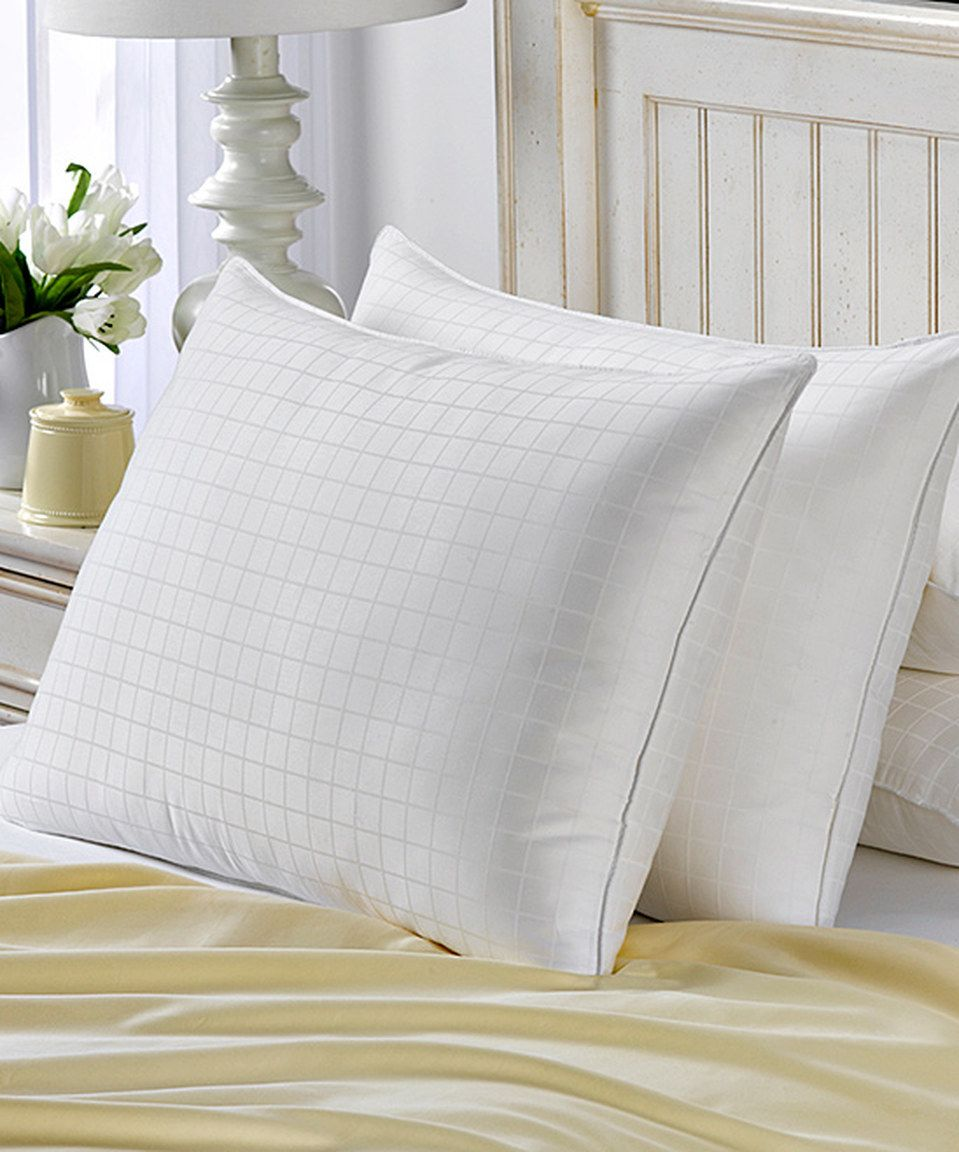 Love This Hotel Luxe Soft Gel Down Alternative Pillow Set Of