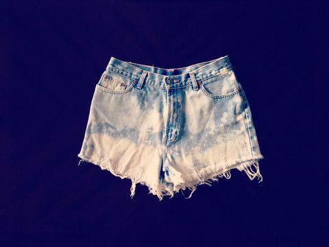 Bleached Custom – KenzieLeighCoyne Nashville  #iwant #ineed #highwaisted #jorts #denim #shorts