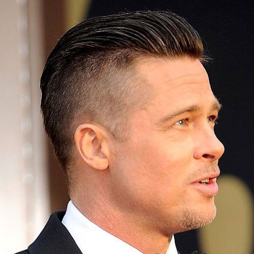 Celebrity hairstyles for men brad pitt haircut haircuts and men male celebrity hairstyles brad pitt haircut winobraniefo Images