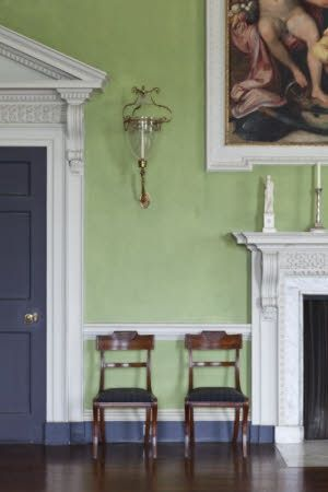 A Long Corbel Is Used Here To Decorate A Door Frame And