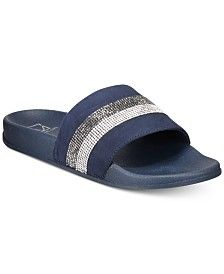 INC International Concepts INC Women's Peymin Pool Slides, Created for Macy's & Reviews – Slippers – Shoes – Macy's