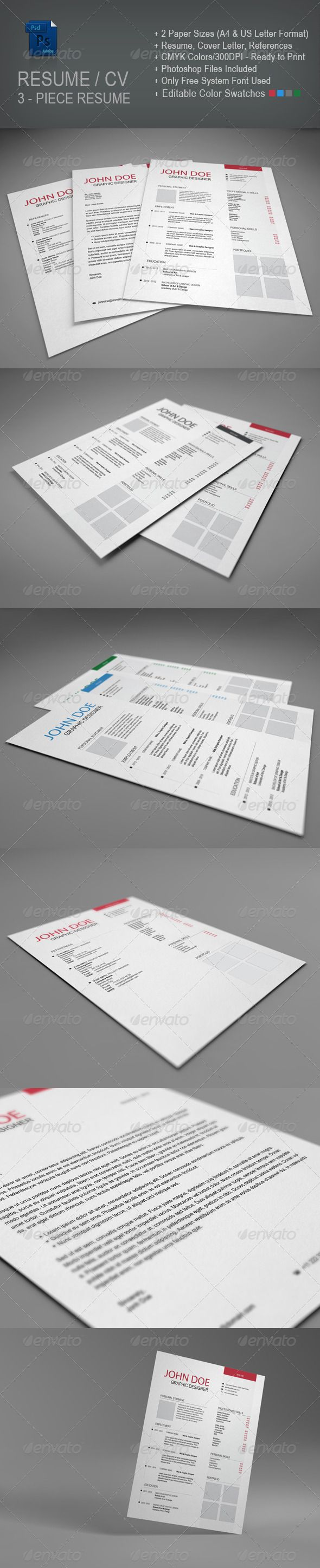 arial narrow resume template