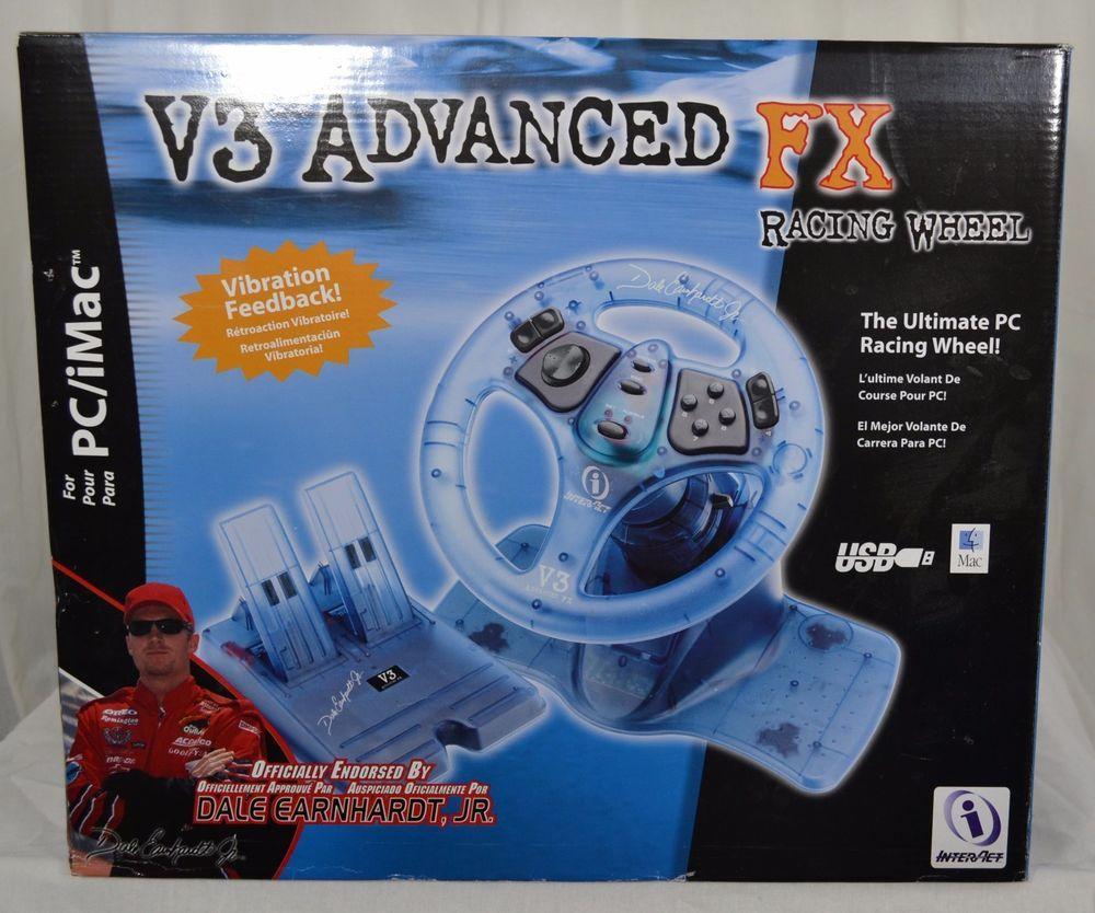 Dale Earnhardt, Jr V3 Advanced FX Racing Wheel - PC/iMac