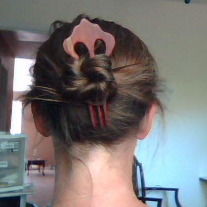 Hair fork.