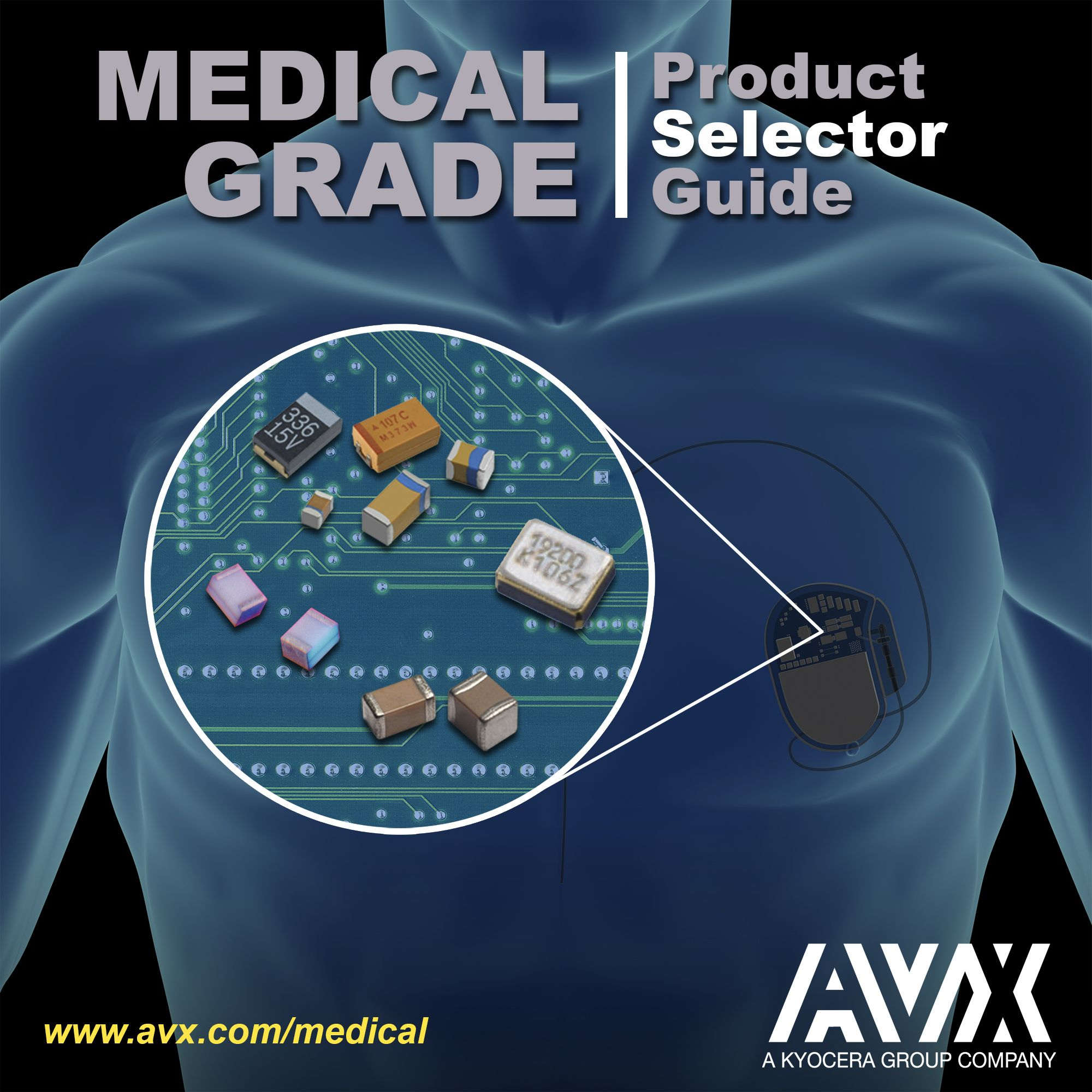 AVX Releases New Medical Selector Guide | news.sys-con.com