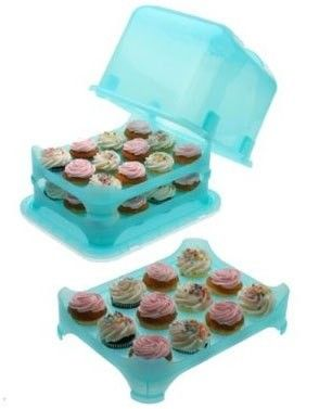 36 Cupcake Carrier Amusing The Cupcake Courier  Blueholds Up To 36 Cupcakes Or Muffins Review