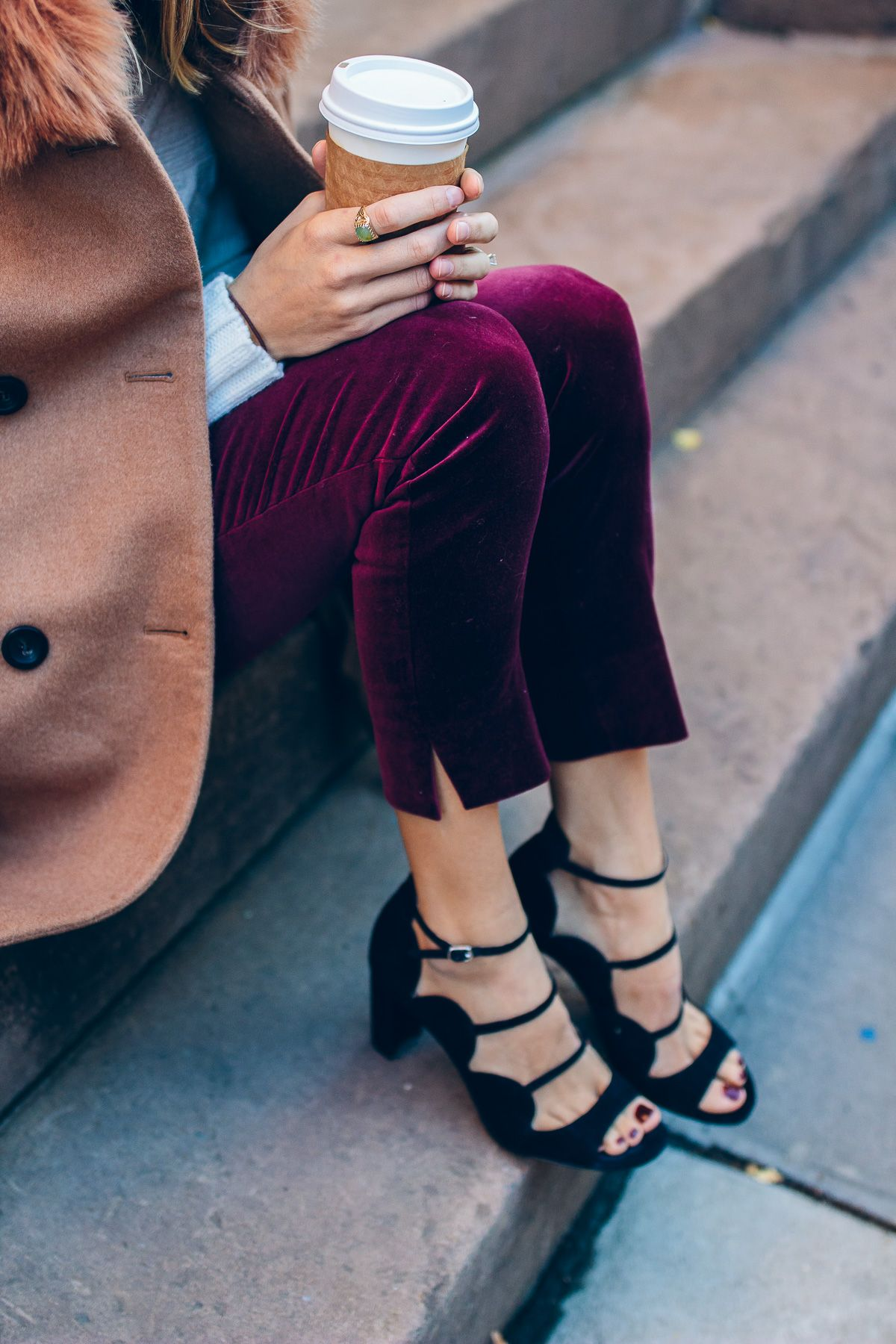 553d4f3e35 How to Style a Cable Knit Sweater | Fox & She Style | Chicago ...
