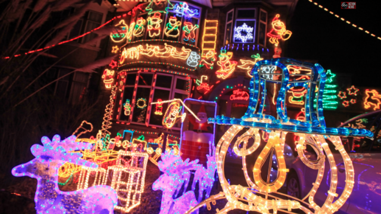 Check out these Christmas lights in Tampa Bay Holiday
