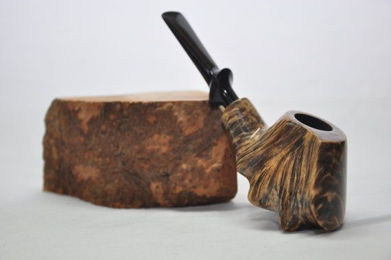 Volcano Pipe - Freehand Tobacco Pipe. Smoking pipe. Briar pipe ...