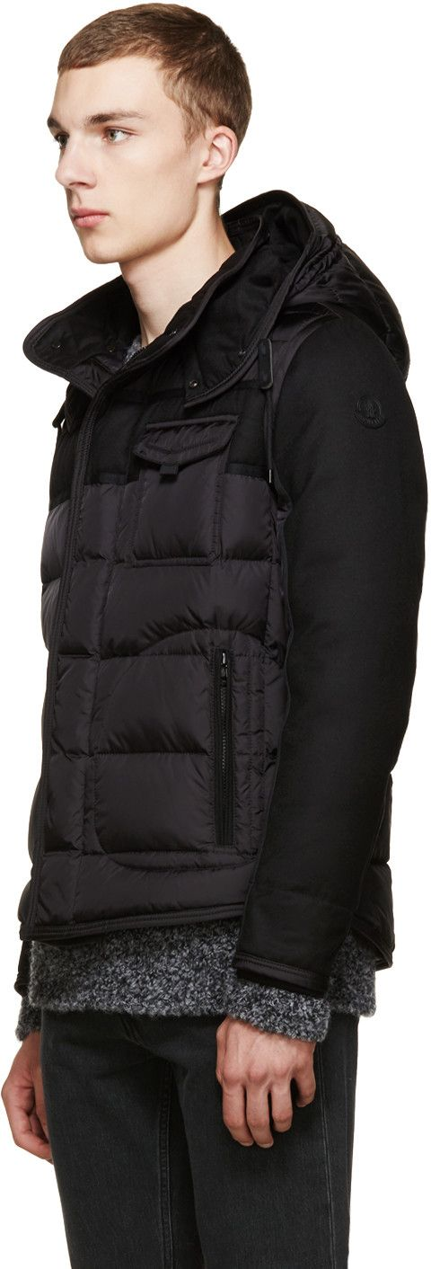 Moncler - Black Quilted Ryan Jacket