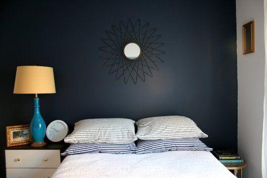 Bedroom Color Sherwin Williams Indigo Batik 7602 With