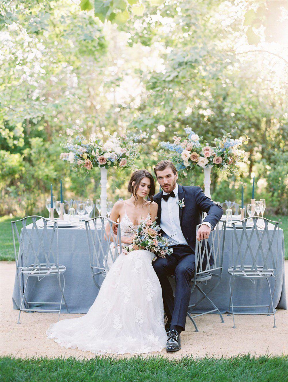 Ultra Romantic Micro Wedding at Kestrel Park in Santa Ynez